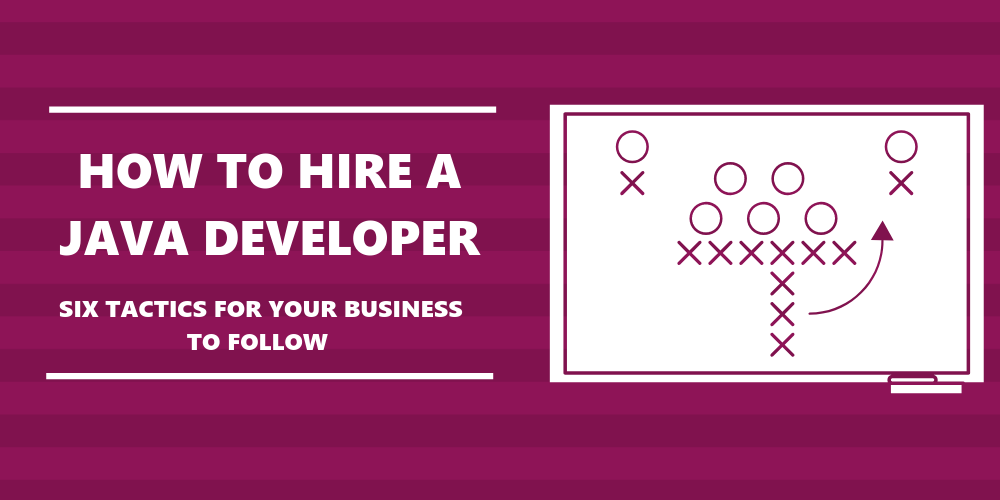 tactics board to show the moves your business should make looking for a developer